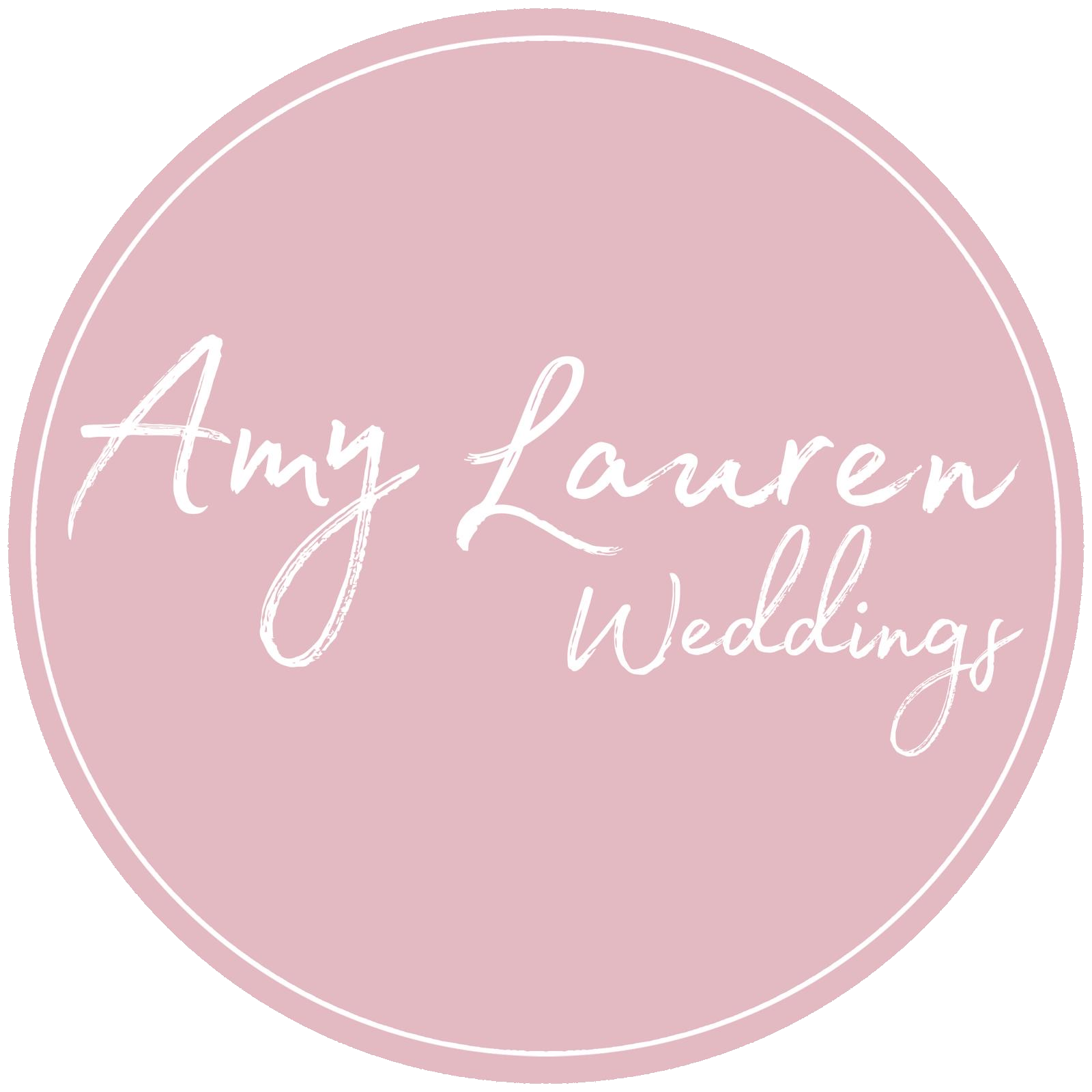 Amy Lauren Weddings Logo
